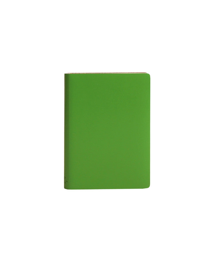 Paperthinks Recycled Leather Pocket Notebook Ruled 3.5 x 5 Inch - Mint - Paperthinks.us