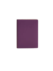 Paperthinks Recycled Leather Pocket Notebook Ruled 3.5 x 5 Inch - Violet - Paperthinks.us