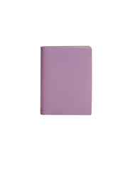 Paperthinks Recycled Leather Pocket Notebook Ruled 3.5 x 5 Inch - Lilac - Paperthinks.us