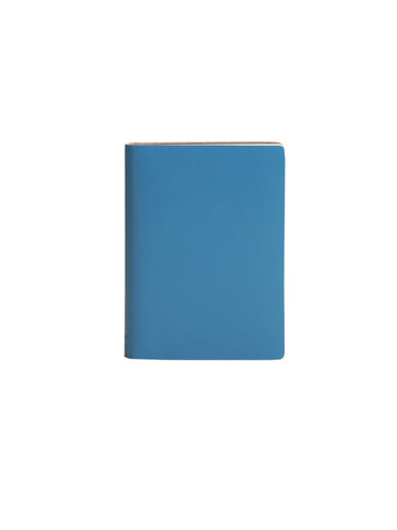 Pocket Notebook; Plain - Blue Mist