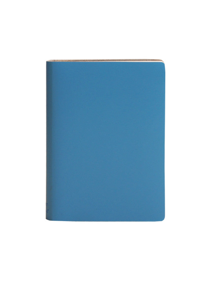 Large Notebook; Plain - Blue Mist