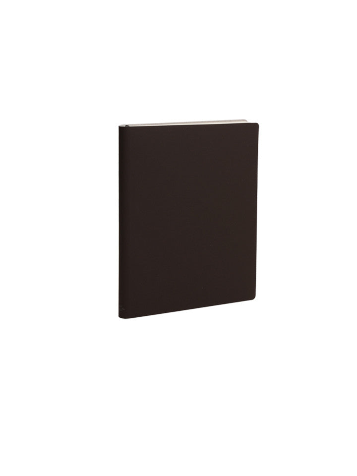 Pocket Slim Notebook - Chocolate Brown