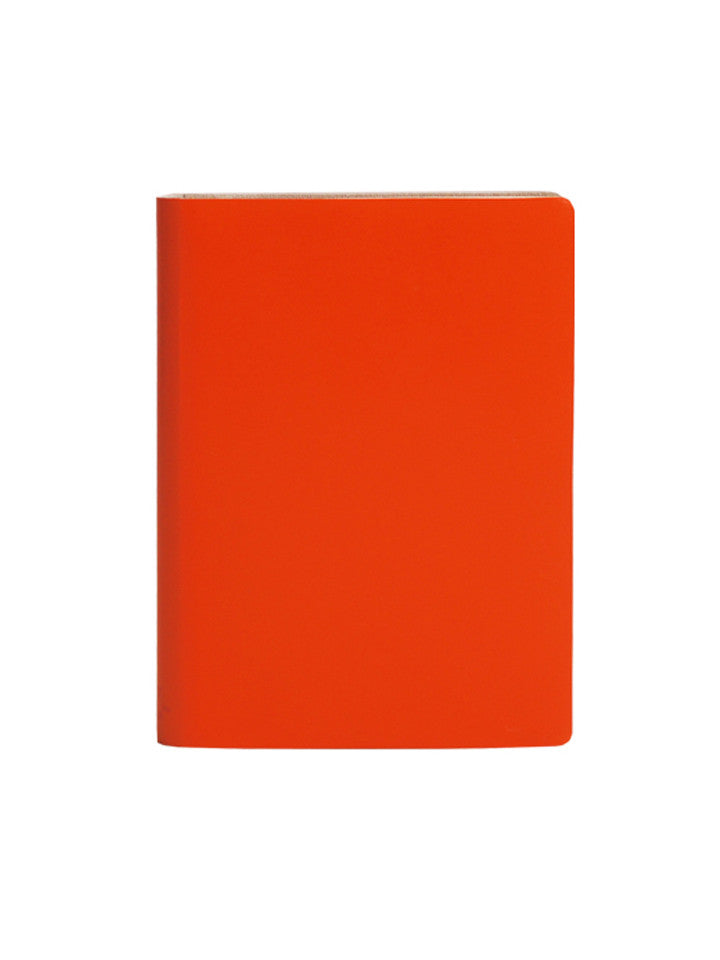 Large Slim Notebook - Tangerine - Paperthinks.us