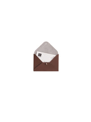 Mini File Folder - Chocolate Brown