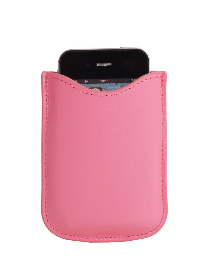 Paperthinks Eco-Friendly Leather Card Case - Fuchsia - Paperthinks.us