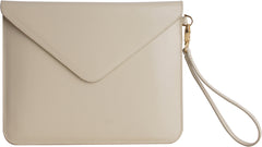 Paperthinks Recycled Leather Tablet Folio - Ivory - Paperthinks.us