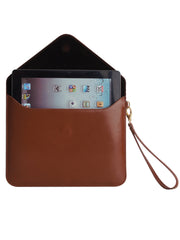 Paperthinks Recycled Leather Tablet Folio - Tan - Paperthinks.us