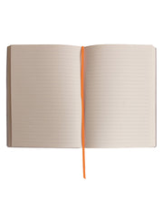 Large Slim Notebook - Tangerine