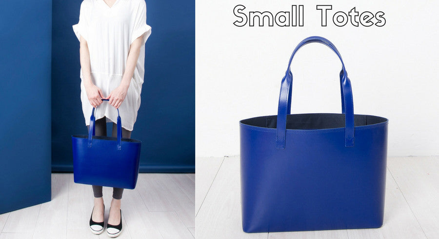 Shop Paperthinks Recycled Leather Small Tote Bags