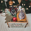 Winter Wonderland Wooden Crate