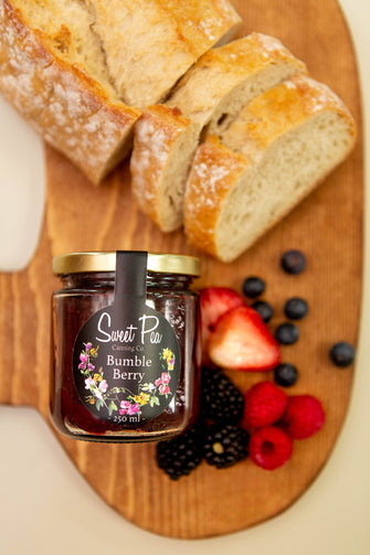 Organic Bumble Berry Jam - Ironwood Farm