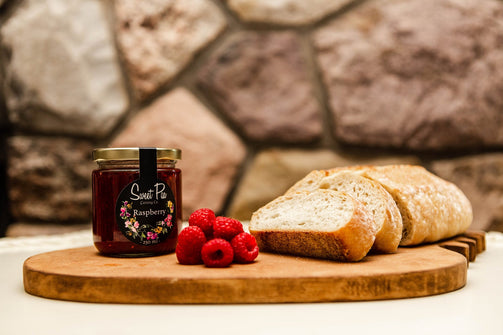 Organic Raspberry Jam - Ironwood Farm
