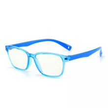 Load image into Gallery viewer, Premium JellyFlex Super Durable - Jelly Blue - Blue Light Blocking Glasses