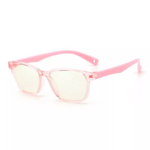 Load image into Gallery viewer, Premium JellyFlex Super Durable - Jelly Pink - Blue Light Blocking Glasses