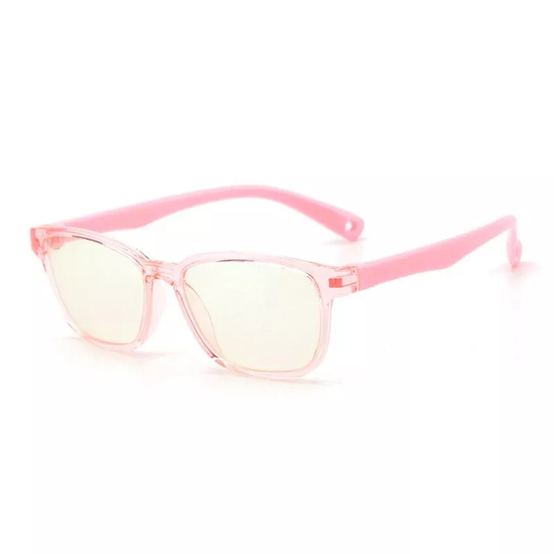 Premium JellyFlex Super Durable - Jelly Pink - Blue Light Blocking Glasses