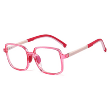 Load image into Gallery viewer, Premium SquareFlex Super Durable - Jelly Pink - Blue Light Blocking Glasses