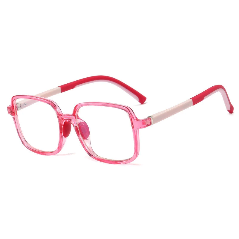 Premium SquareFlex Super Durable - Jelly Pink - Blue Light Blocking Glasses