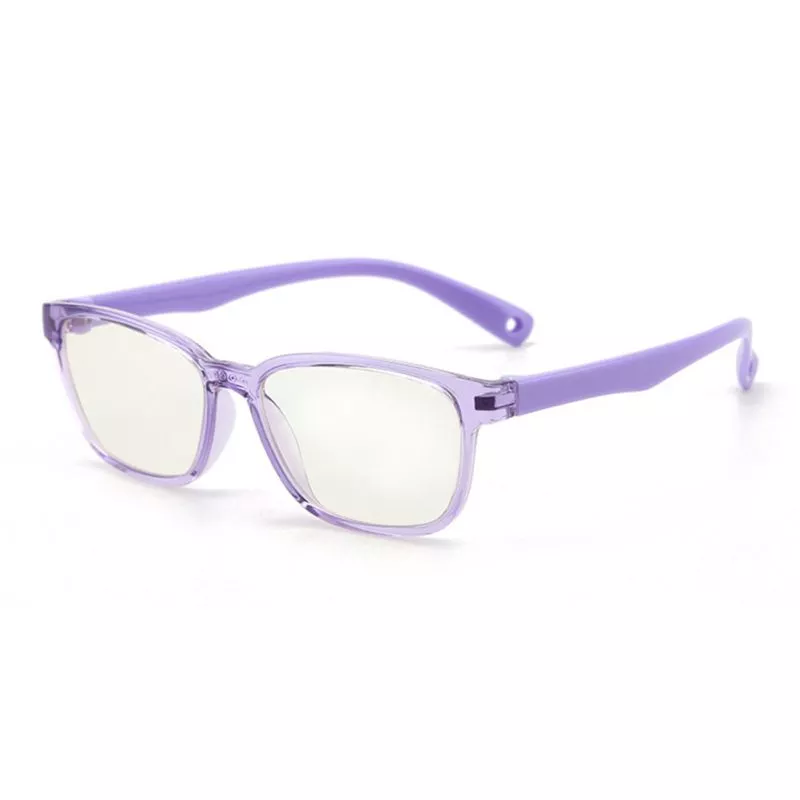 Premium JellyFlex Super Durable - Jelly Purple - Blue Light Blocking Glasses