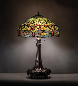 "31"" High Hanginghead Dragonfly Table Lamp"