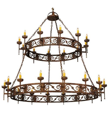 "Image of 83""W Majella 2 Tier Chandelier"