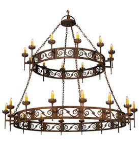 "83""W Majella 2 Tier Chandelier"