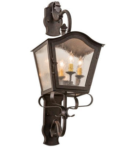 "12""W Christian Wall Sconce"