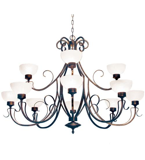 "60"" Wide Mirasol Chandelier - Joskat Lighting"