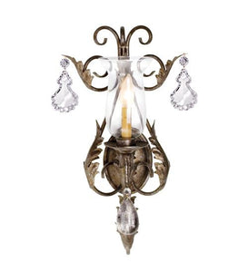 "12"" Wide French Elegance 1 Light Wall Sconce"