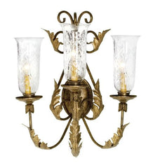 elegance 3 light wall sconce