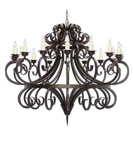 "60"" Wide Symen 16 Light Chandelier"