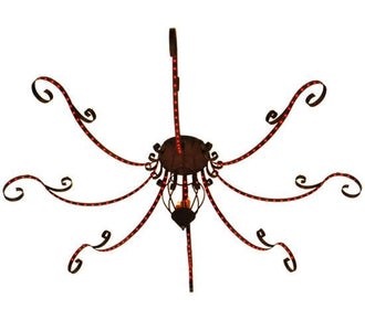 "166""W Carnevale 8 Arm Chandelier"