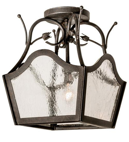 Image of wide terena 4 light pendant