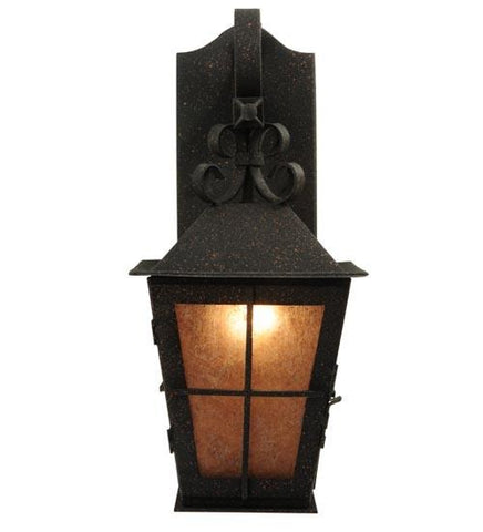 "Image of 9"" Wide Turin Lantern Wall Sconce"