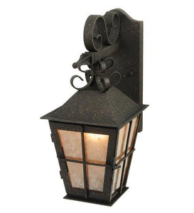 "9"" Wide Turin Lantern Wall Sconce"