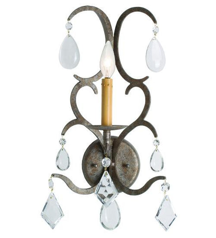 alicia 1 light wall sconce