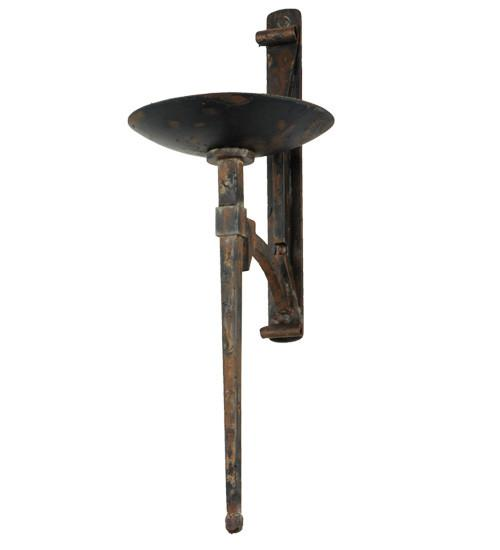 "12.5""W Gothic Bobeche Candle Holder - Joskat Lighting"