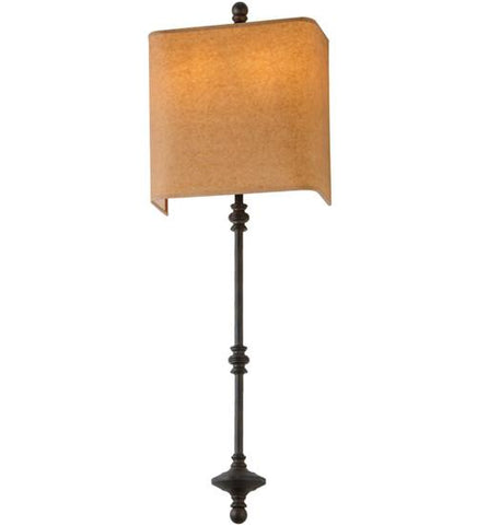 Image of wide muirfield wall sconce