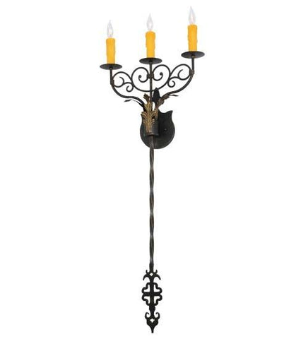 "Image of 15.5""Wide Merano 3 Light Wall Sconce"