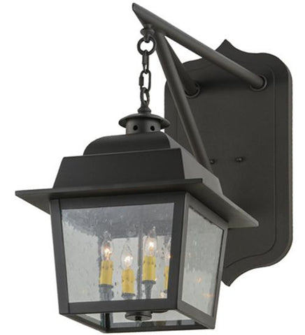 "Image of 15""W Stockwell Hanging Lantern Wall Sconce"