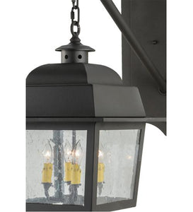 "15""W Stockwell Hanging Lantern Wall Sconce"