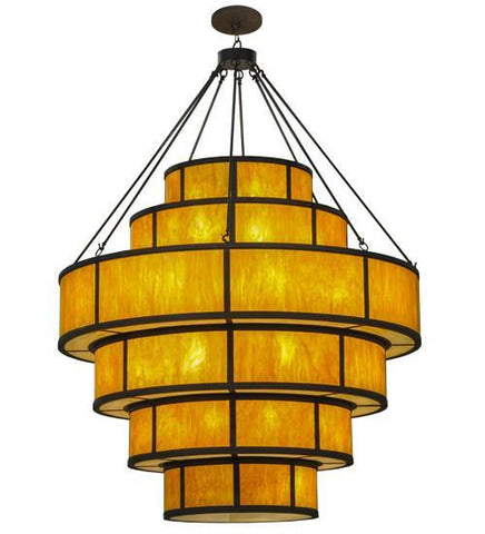 "Image of 74""W Jayne 6 Tier LED Pendant"