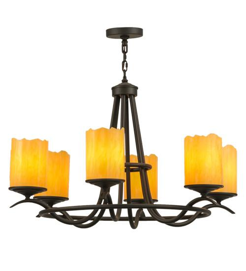 "39""W Octavia 6 LT Chandelier - Joskat Lighting"