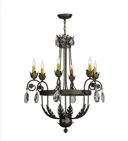 "Image of 26""W Antonia 6 LT Chandelier"