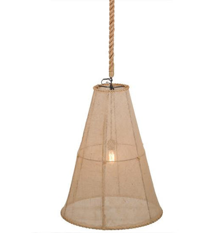 "Image of 24"" Wide Empire Textrene Pendant"