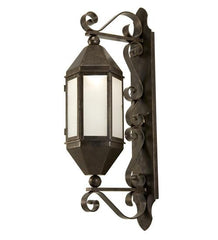 "10"" Wide Plaza Lantern Wall Sconce"