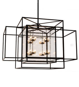 "72""L Kitzi Box Oblong Pendant"