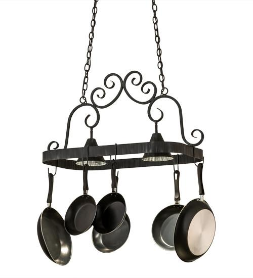 "32""L Elana 2 LT Pot Rack - Joskat Lighting"