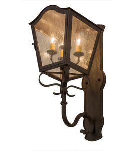 "10""W Christian Wall Sconce"
