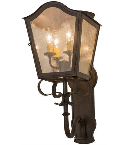 "Image of 10""W Christian Wall Sconce"