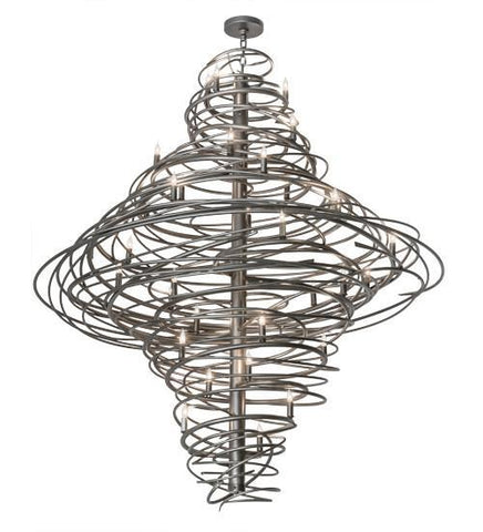 "Image of 60""W Cyclone 36 LT Chandelier"